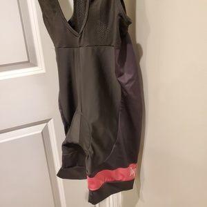 Rapha black and pink size large bib shorts